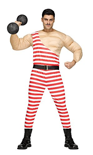 Adult Size Carny Muscle Man Costume - Carnival - Freak Show