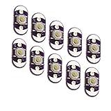 Puuli 10 Pcs LilyPad push Button Switch Board