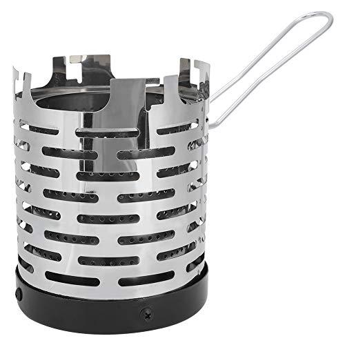 Mini Kachel Verwarming Cover Rvs Camping Mini Heater Draagbare Warming Heater Shield voor Outdoor Backpacken Wandelen