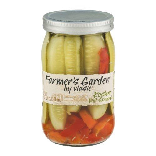 Farmer's Garden By Vlasic Kosher Dill Spears 26OZ (Pack of 6)