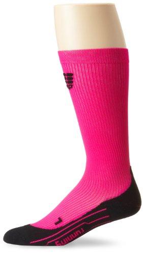 CEP Compression - Calcetines de running para mujer, tamaño XL, color blanco rosa