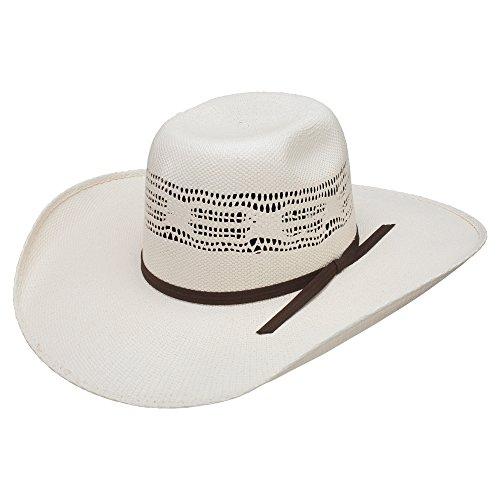 Stetson & Dobbs RSBKJR-8340 Boys Buckeye Jr Cowboy Hat, Natural - ALL (Kid Resistol Cowboy Hat)