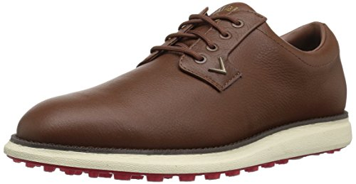 Callaway Mens Swami 2.0 Golf Shoe Brown, 14 - 2 Brown Footwear Dark