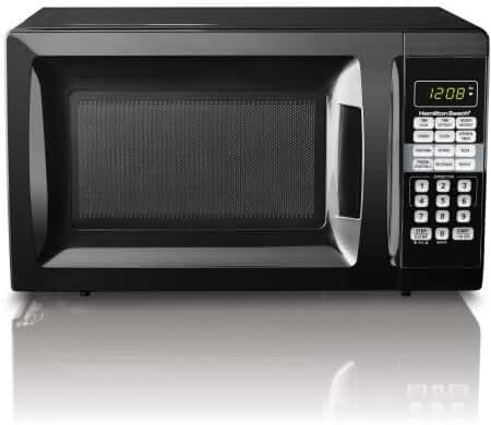 Hamilton Beach Black 0.7 cu ft Microwave Oven - 17.30