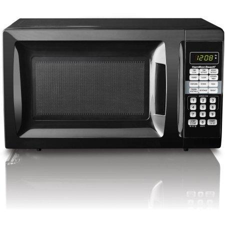 Child-Safe Lockout Feature | Hamilton Beach 0.7 cu ft Microwave Oven