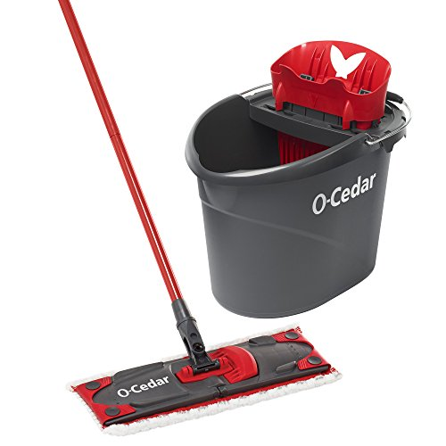 O-Cedar UltraMAX Microfiber Flat Mop & Bucket (Microfiber Bucket)