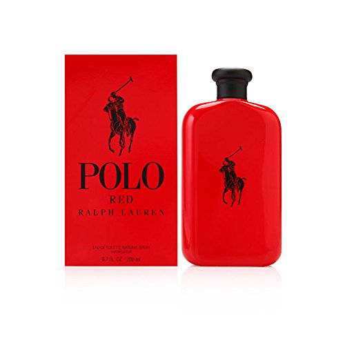 Polo Red by Ralph Lauren for Men 6.7 oz Eau de Toilette Spray (Cologne Polo Set Sport)