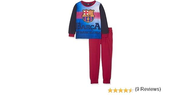 Barcelona F.C. Boys Barcelona PJ, Conjuntos de Pijama para Niños, Multicoloured (Claret/Navy), 7-8 Años(Pack de 2): Amazon.es: Ropa y accesorios