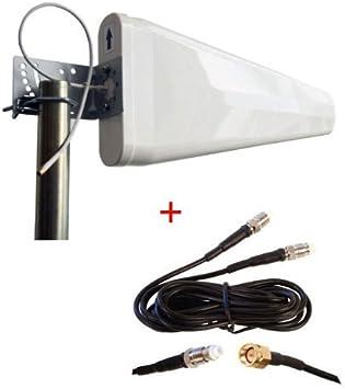 maxmostcom MOFI MOFI4500 - Router móvil 4G LTE Mofi 4500 Externo de Banda Ancha con Antena Yagi periódica