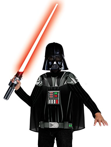 Cheap Star Wars Costumes (Star Wars Darth Vader Value Costume - Large)