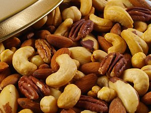 Roasted & Salted Deluxe Mixed Nuts - Gift Tin (Large - 60 oz.) by Treasured Harvest