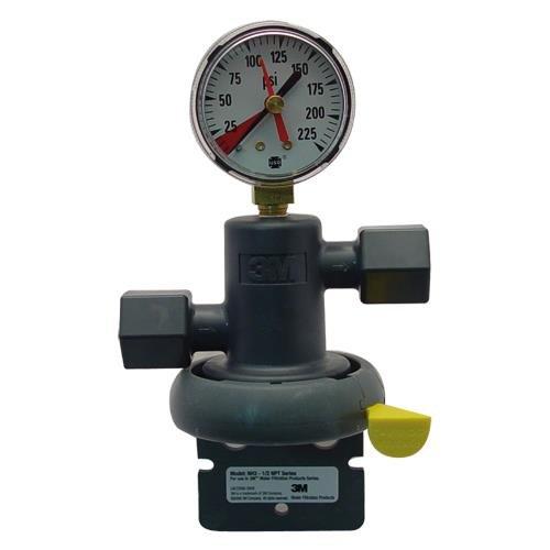 3M Water Filtration 1/2 NH3-NPT Head w/gauge
