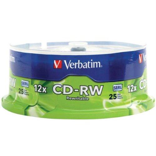 VER95155 - CD-RW Discs by Verbatim