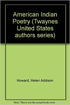 Book American Indian Poetry (Twaynes United States authors series)