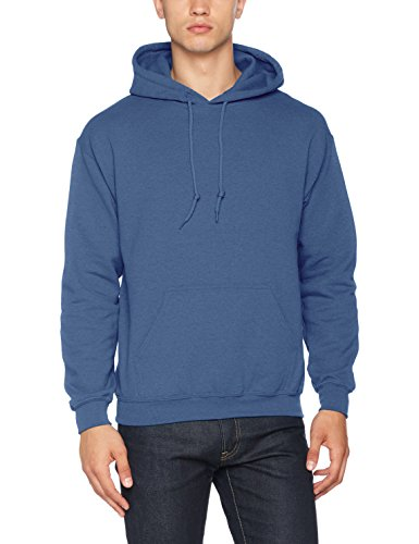 Gildan Adult Heavy Blend� Hooded Sweatshirt (Indigo Blue) (Large)