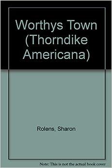 Book Worthys Town (Thorndike Americana)