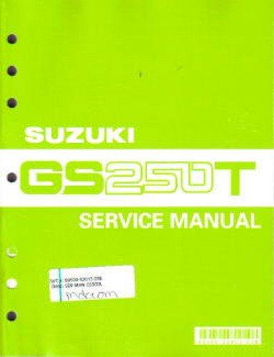 99500-32013-03E 1980-1984 Suzuki GS250T 1982-1985 Suzuki GS300L Motorcycle Service Manual pdf