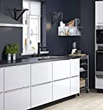 "Still new Home Black Contact Paper Vinyl Contact Paper Self Adhesive Film Decorative Contact Paper Waterproof Stain-Resistant for Kitchen Counter Top Cabinets Wardrobe Furniture (15.8"" X 78.8"")"