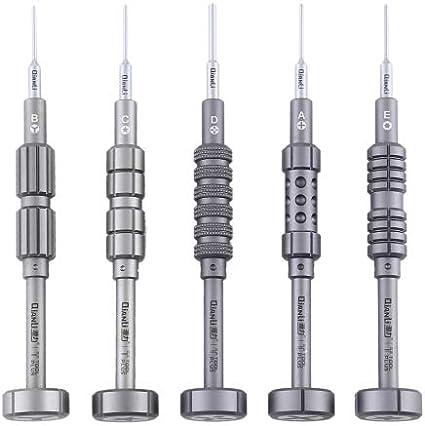 MOBILEACCESSORIES TL 5 in 1 Repair Tool Precision Multi-Purpose 3D Grenade Magnetic Screwdriver Set