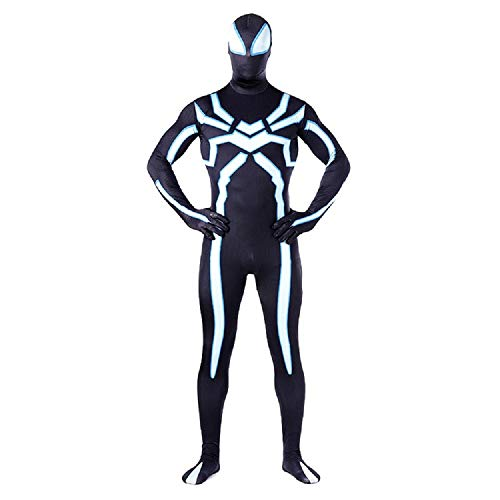 Superhero Jumpsuit Unisex Lycra Spandex Zentai Halloween Cosplay Costumes Adult 3XL]()