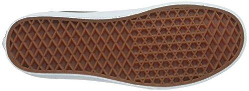 Fourgonnettes Unisexe 106 Salut Gunmetal / Vrai Chaussure De Skate Blanche 10 Hommes Nous