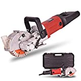 Wall Groove Cutting Machine Slotting Machine Electric Wall Chaser Brick Concrete Cutter Notcher Floor Wall Groove Slotting Machine 40mm 4000W 220V