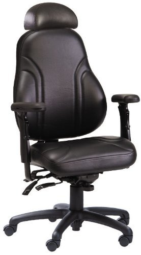 Neutral Posture Series 8600 NPS8600 NPS8600SL High-Back Executive Office Chair - Genuine Leather ()