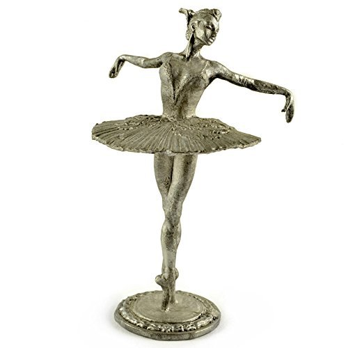 USSR. Ballerina Maya Plisetskaya 1959 year. Metal sculpture. Collection 54mm (scale 1/32) miniature figurine. Tin toy (1096 Miniature)