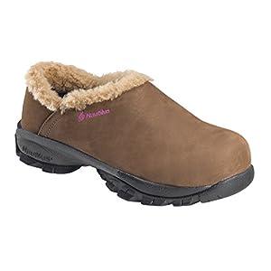 Nautilus Safety Footwear Women's 1881 Work Shoe,Brown,9.5 M US