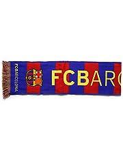 Officiële FC Barcelona gebreide sjaal - verticaal - 120 x 20 cm - gelicentieerd product
