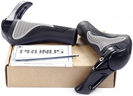 Puños PRUNUS™ para manillar de bicicleta diseño ergonómico caucho ...