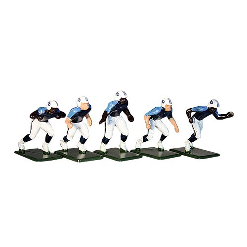 Tudor Games 5-32-D NFL Home Jersey - Tennessee Titans 11 Electric Football Players, Multicolor (Pack of 11)