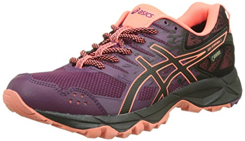 4 3 Purple Black G Sonoma Coral Women's Gel Running Dark Shoes UK Tx Flash Purple Asics Black x1RTW
