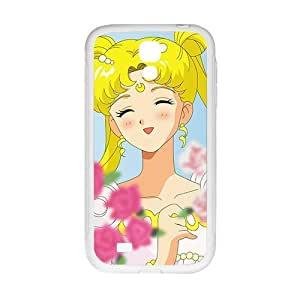 Happy Lovely beautiful girl Cell Phone Case for Samsung Galaxy S4