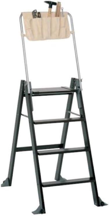 Foppapedretti La Scaletta - Escalera de 4 peldaños, Color wengué: Amazon.es: Hogar