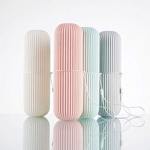Reise Wasser Becher Set,Kreativer Zahnputzbecher Zahnbürstenhalter für Zahnbürsten