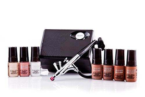 Luminess Airbrush Makeup Kit System Cosmetic Basic 7 Pc S...