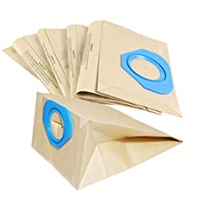 5 Pack Multi Layer Paper Dust Bags for Nilfisk & Nilfisk Advance