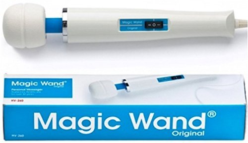 New Premium Magic Wand Original Electric Massager + Includes a Free Hand & Body Lotion 1oz