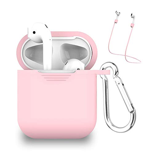 Case+Stylus, Fits Apple MYBAT AirPods Protective Case and Strap-Pink Fits The Following -