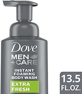 Amazon Com Dove Men Care Foaming Body Wash To Hydrate Skin Extra Fresh Effectively Washes Away Bacteria While Nourishing Your Skin 13 5 Oz Beauty