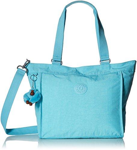 Boutique Designer Tote Bag - Kipling New Shopper S Blue Splash Tote, BLUESPLASH