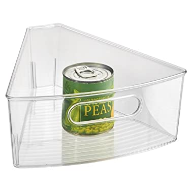 InterDesign Kitchen Lazy Susan Pantry Cabinet Binz 1/8, Clear