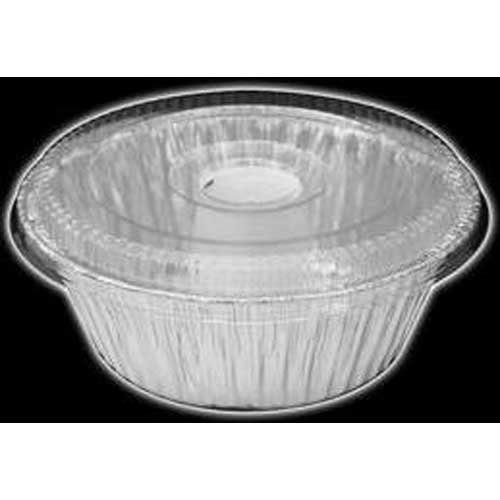Handi Foil Angel Food Pan with Plastic Dome Lid, 8 inch -- 200 per case. by Handi-Foil