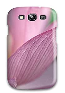 Tpu Shockproof/dirt-proof Flower Pink 1080p Hd Cover Case For Galaxy(s3)