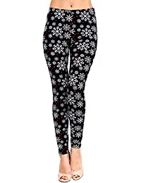 Buttery Soft Printed Leggings - Christmas Seasonal Winter...