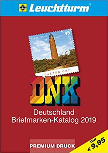 Dnk Deutschland Briefmarken Katalog 2019 Amazonde Leuchtturm