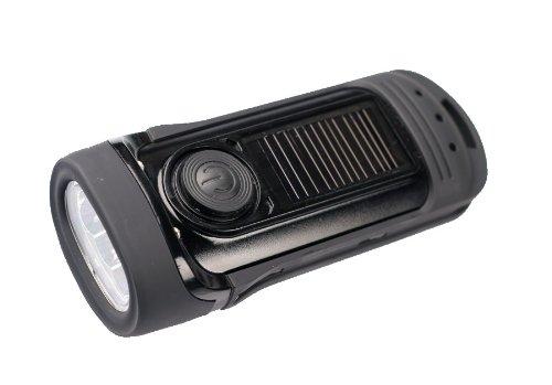 POWER plus Barracuda LED Solar/Wind-Up Torch