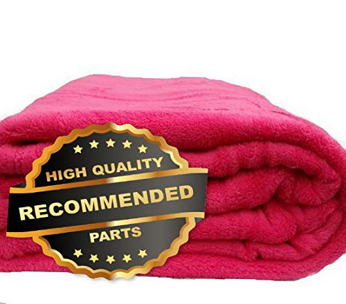 Gatton Coral Fleece Throw Blanket Soft Elegant 14 Solid Colors King Queen Full Size | Style ()