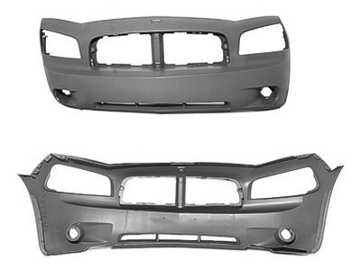 2007 dodge charger rt bumper - 7